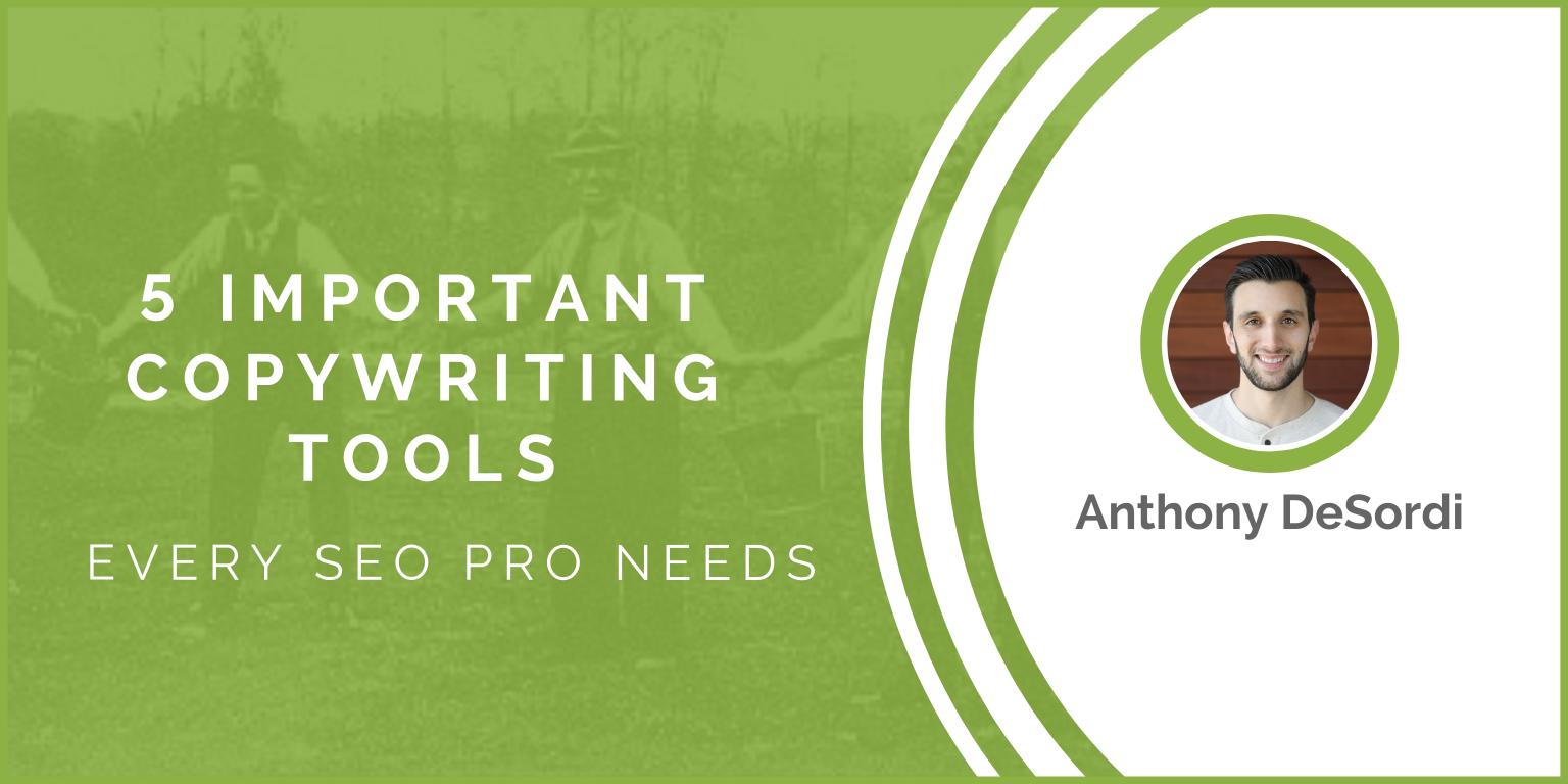 5 outils de rédaction importants dont tout professionnel du référencement a besoin